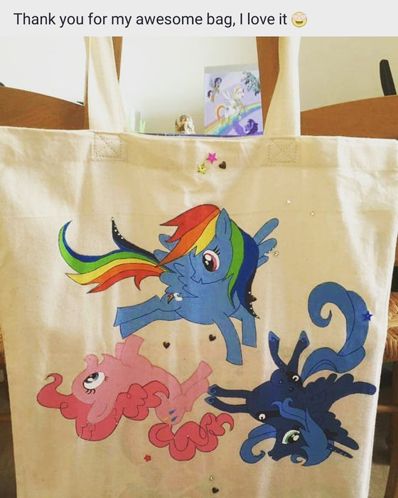 Image of Customised cotton tote