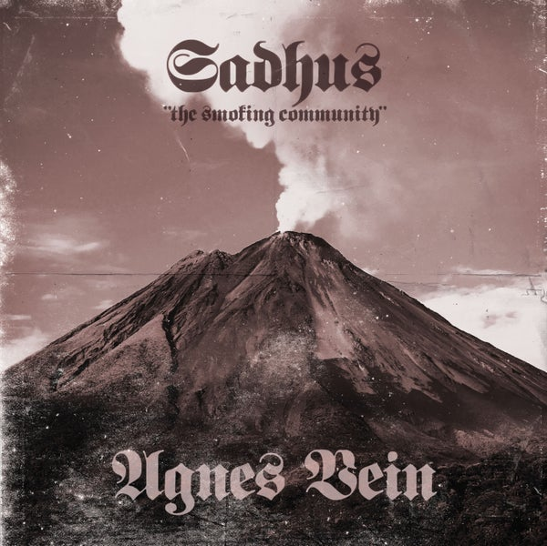 "Image of Sadhus ""the Smoking Community""/Agnes Vein split 7"""