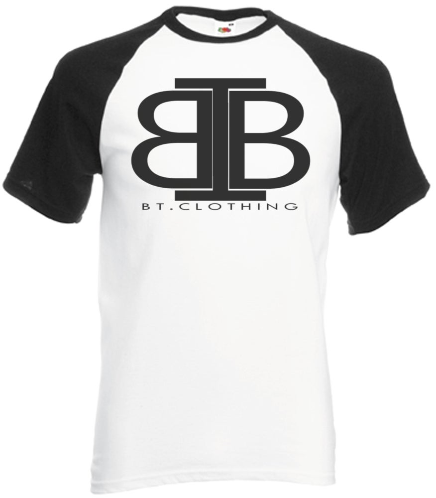 Image of Plain logo baseball top Short Sleeve