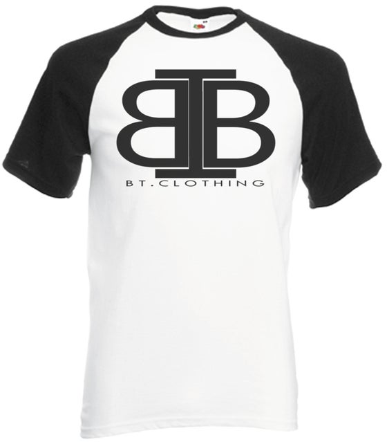 Image of Plain logo baseball top Short Sleeve