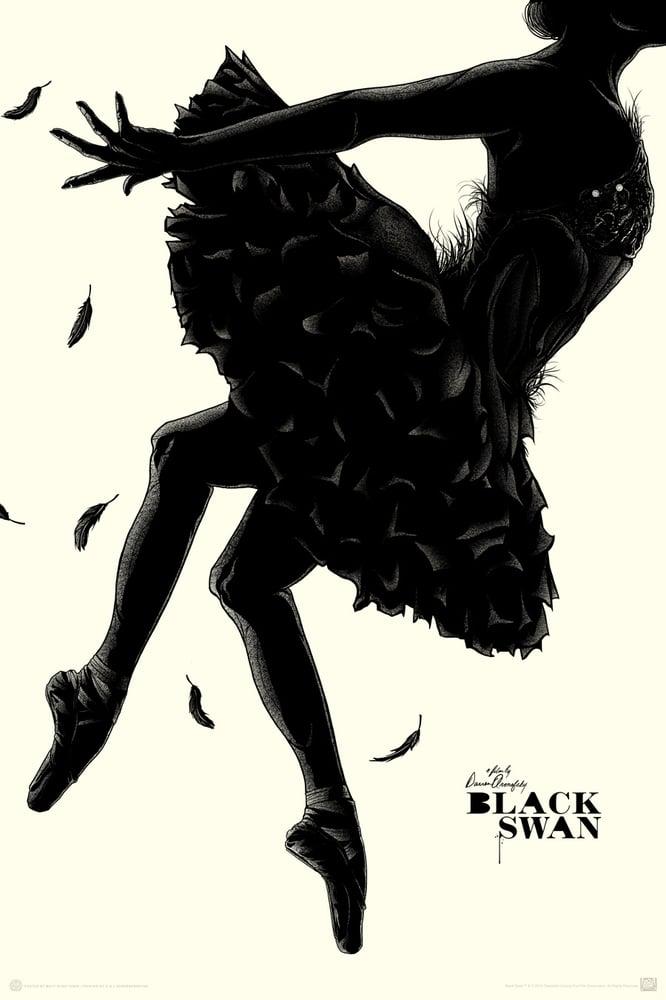 Image of MONDO BLACK SWAN - Regular