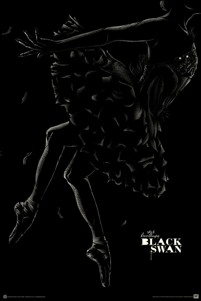 Image of MONDO BLACK SWAN - Variant