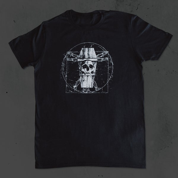 Image of Vitruvian Coffin Shirt