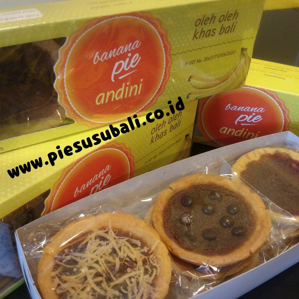 Image of kue pai coklat khas bali