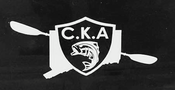 Image of C.K.A White Diecut Decal