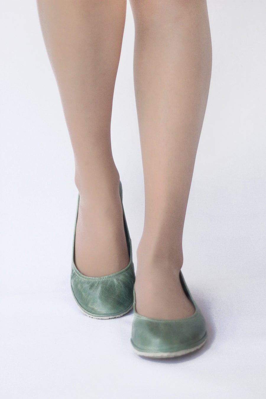 Image of Eko ballet flats in Mint