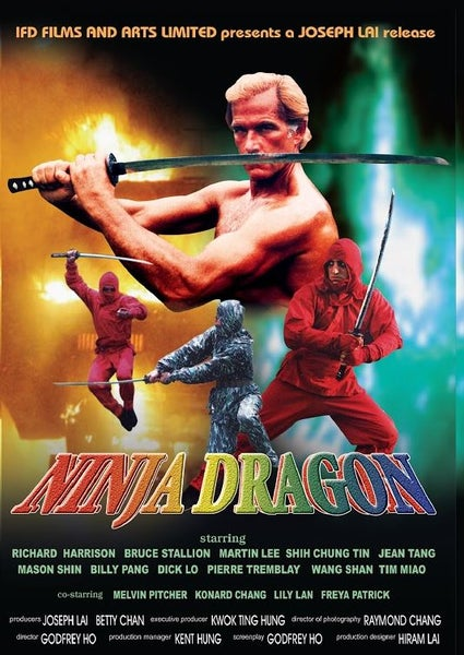 Image of Ninja Dragon DVD