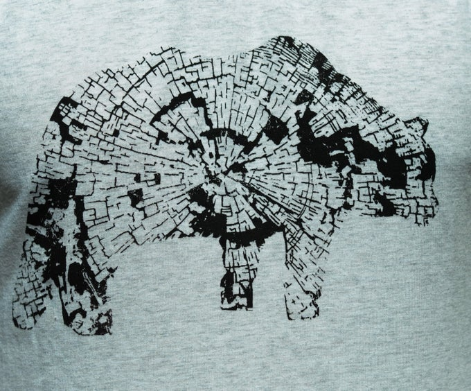 Image of Stumpy the bear Tee