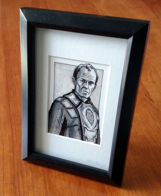 Image of Stannis Original Art Card (Framed)