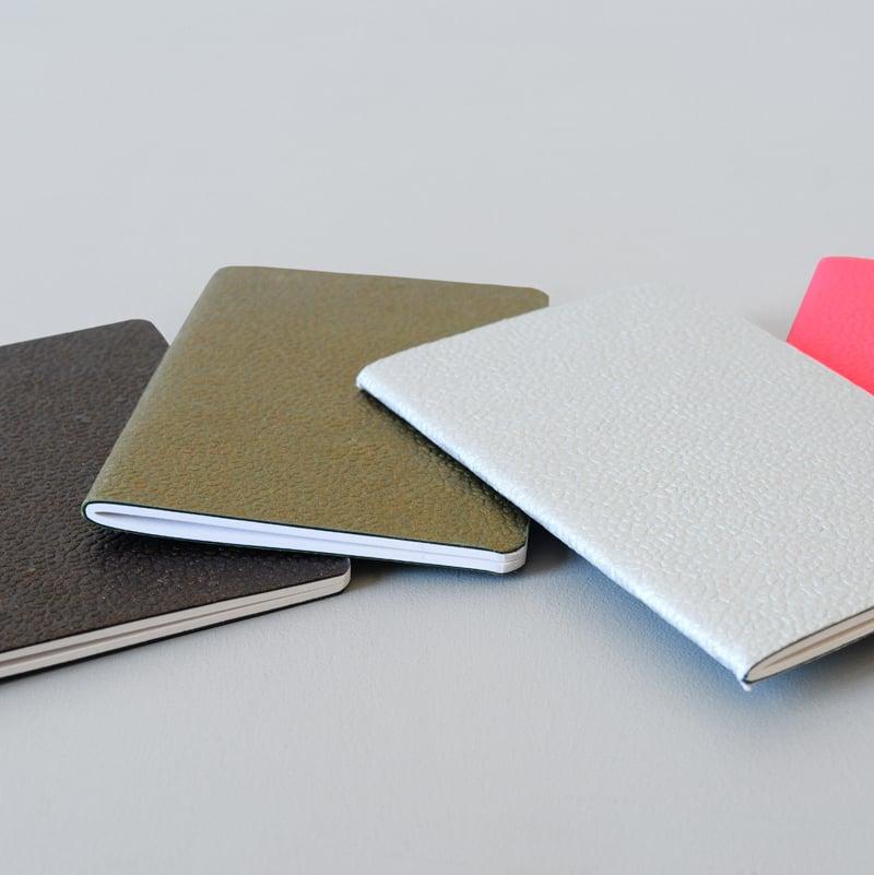 Image of Carnet en fibre de coton recyclée 2 formats