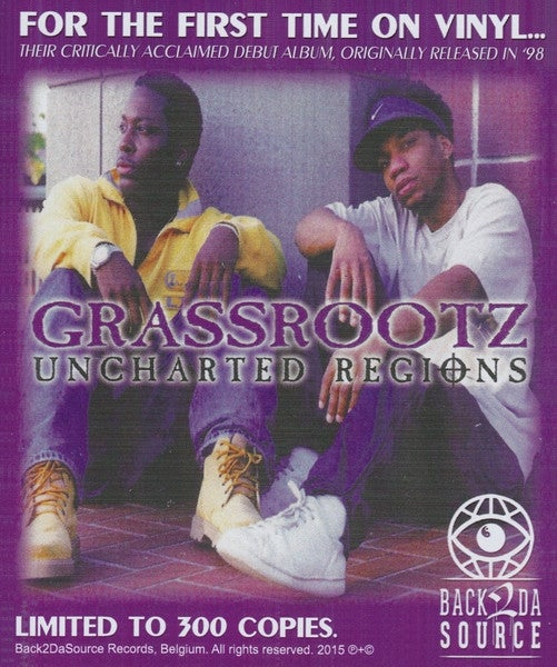 Image of Grassrootz - Uncharted Regions (Album LP, 1998) (SOLD OUT)