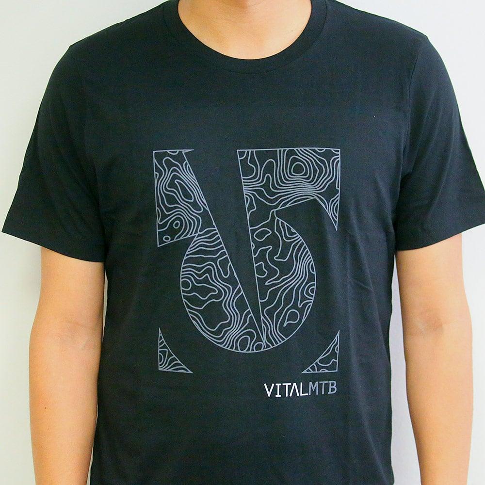 Image of Vital MTB Topo T-Shirt, Black