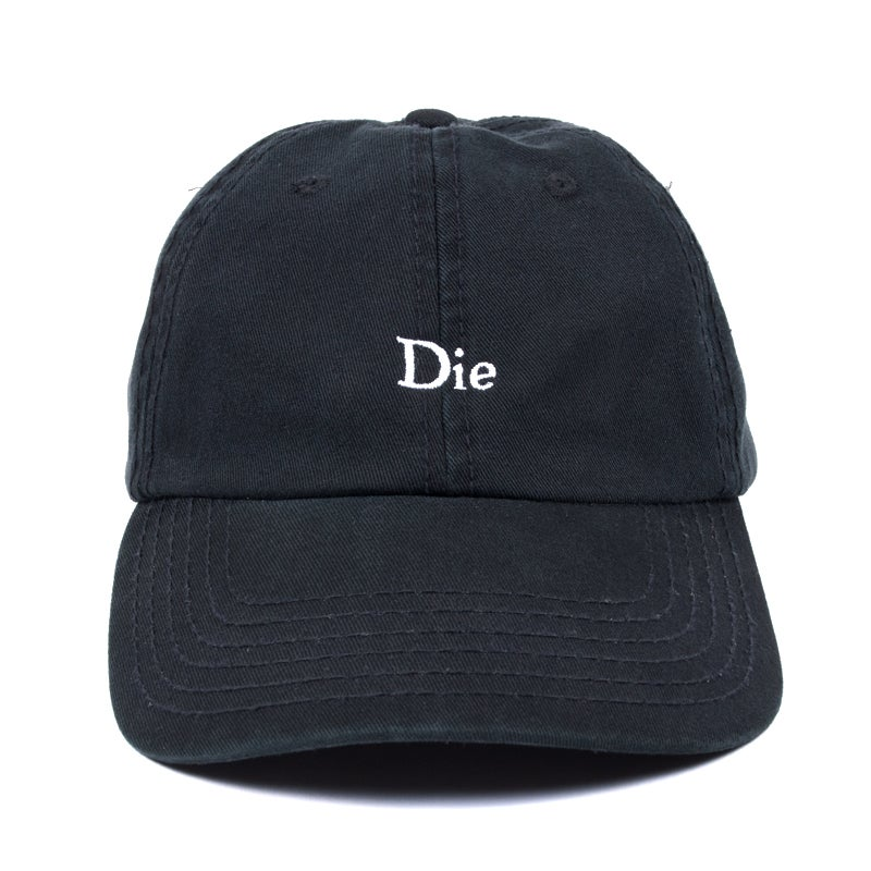 Image of Die Low Profile Sports Cap - Black