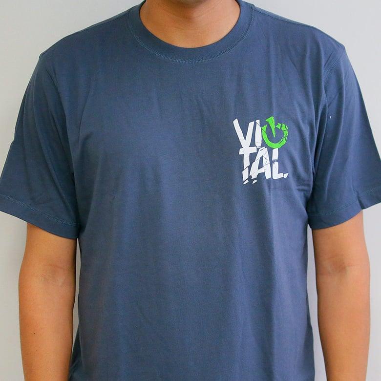 Image of Vital MTB Fracture Performance T-Shirt, Slate