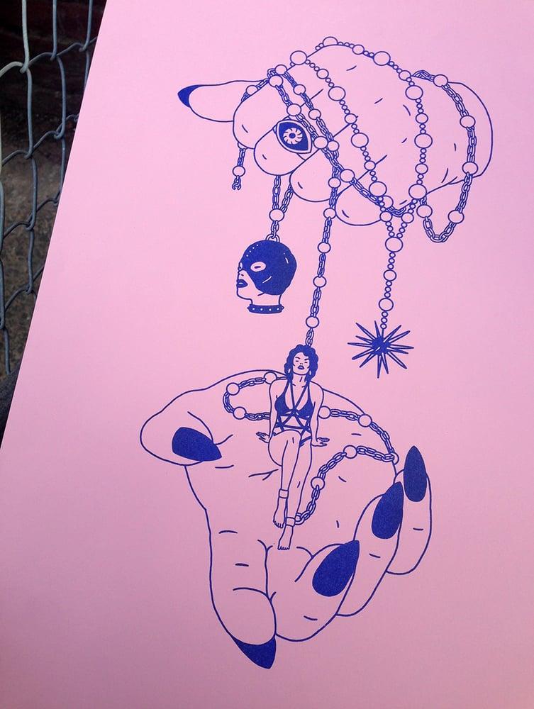 Image of 'INNOCENCE' Risograph Print