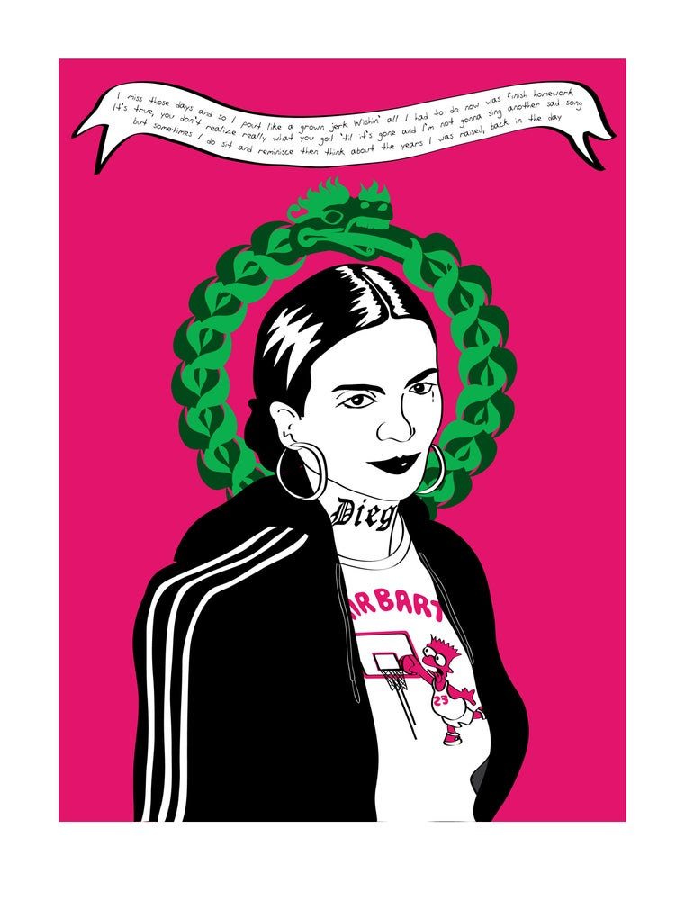 Image of Ghetto Frida: The Ouroboros (2013)