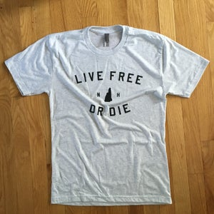 Image of Live Free or Die - Heather T-shirt - soft
