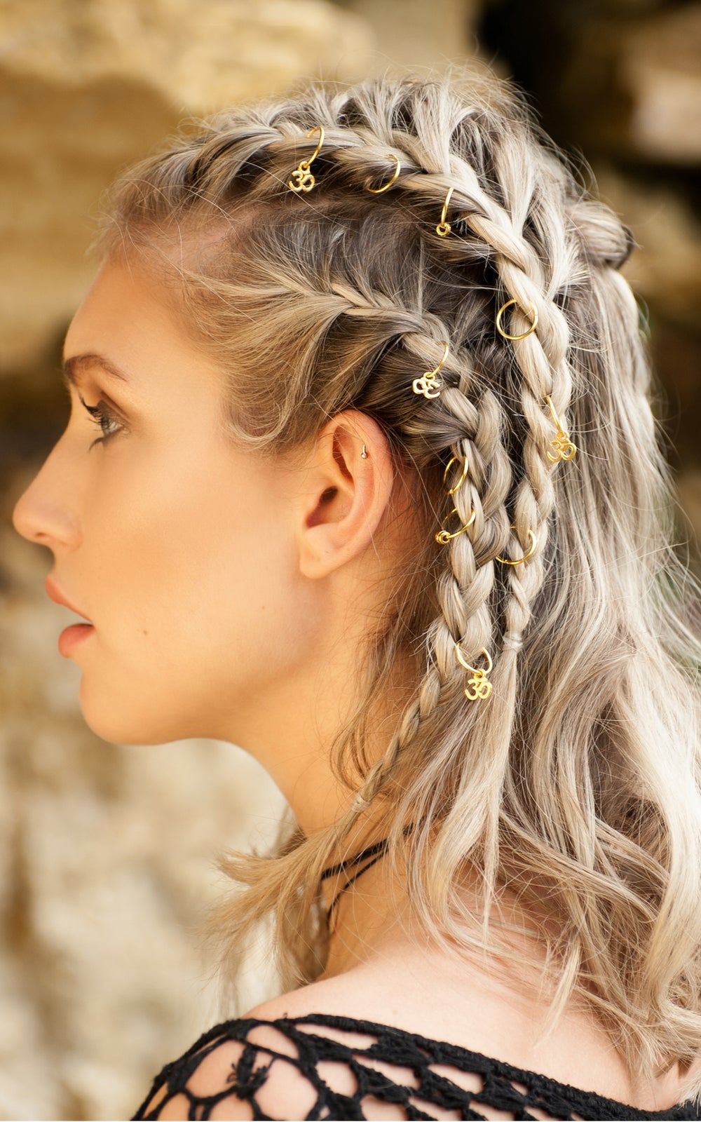 Image of Virgo Hair Rings