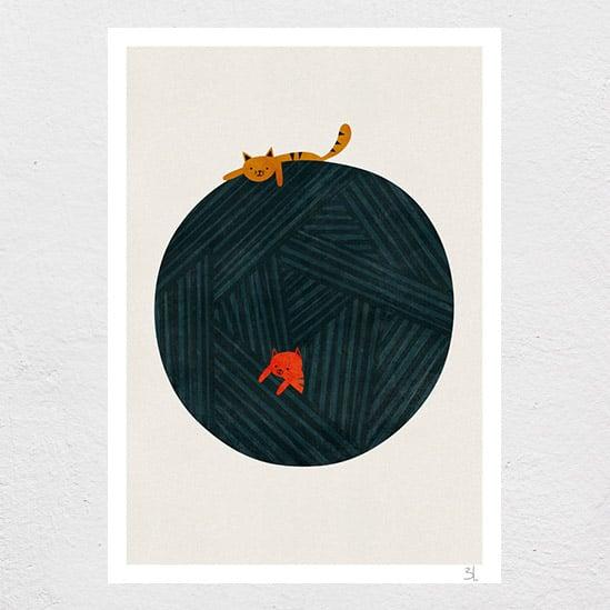 Image of The Yarn Ball Print