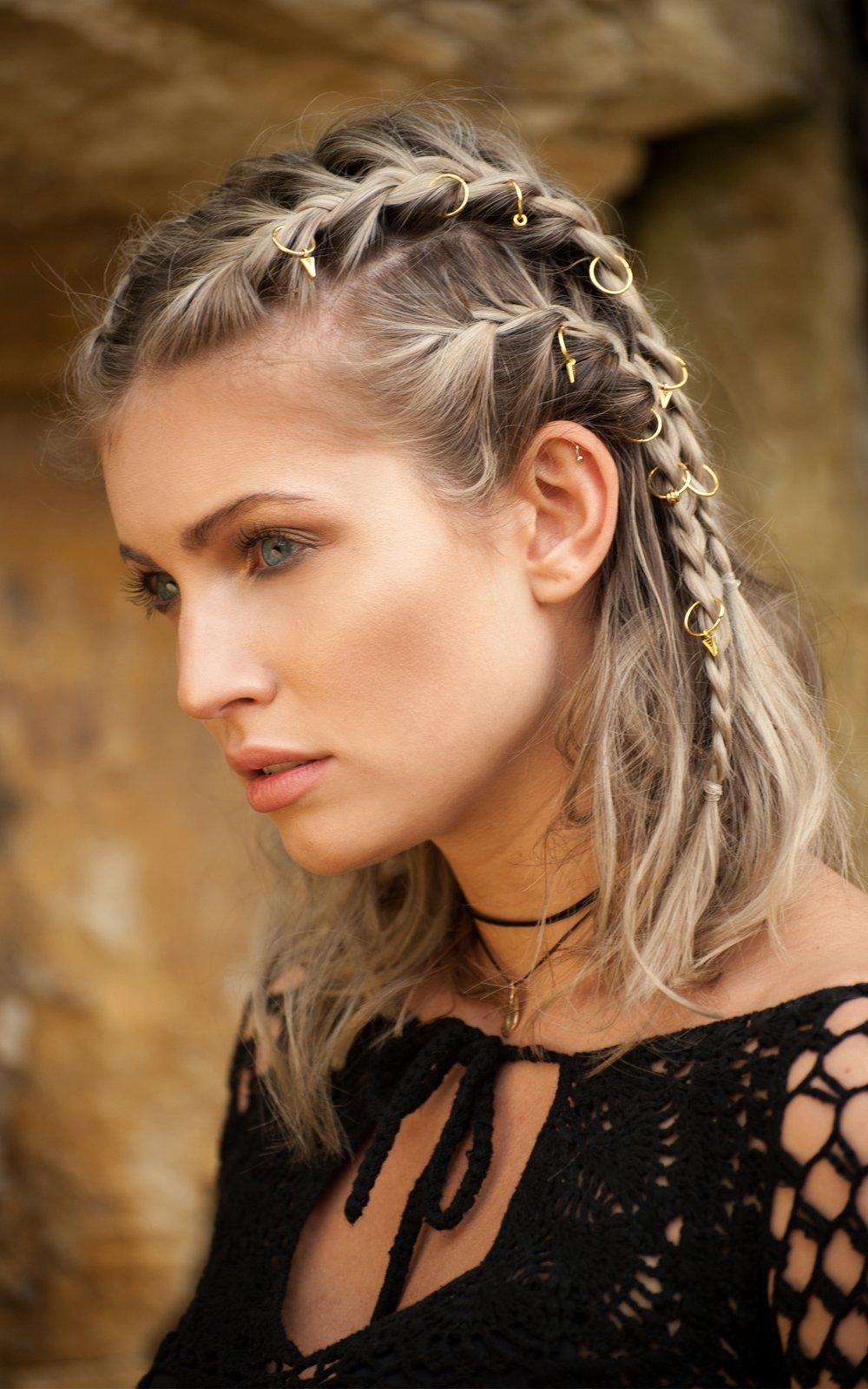 Image of Aries Hair Rings