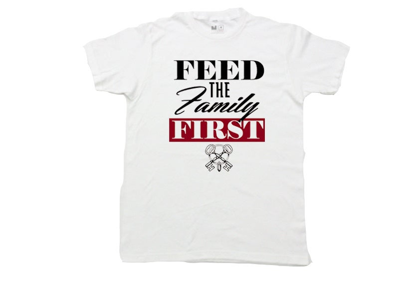 Image of Feed the Family First Tee (White)