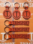 Image of Trimsport LIMITED EDITION Leather Keyrings