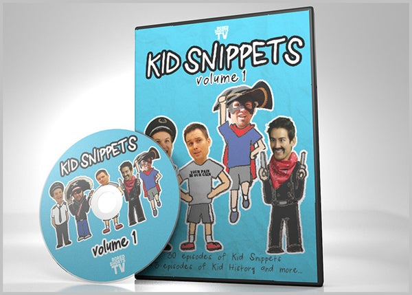 Image of Kid Snippets - Volume 1 DVD