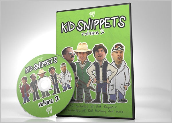 Image of Kid Snippets - Volume 2 DVD