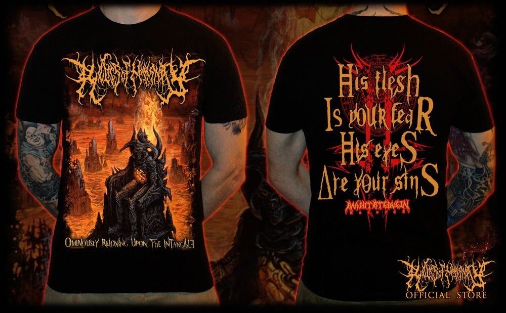 RELICS OF HUMANITY -Ominously Reigning Upon The Intangible T-Shirt [Size S]