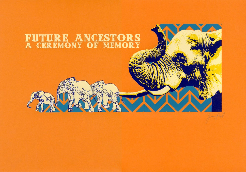 Image of Future Ancestors print (2013)