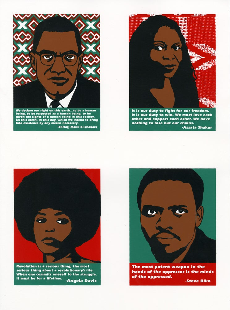 Image of Black Power Mini-Prints (2015)