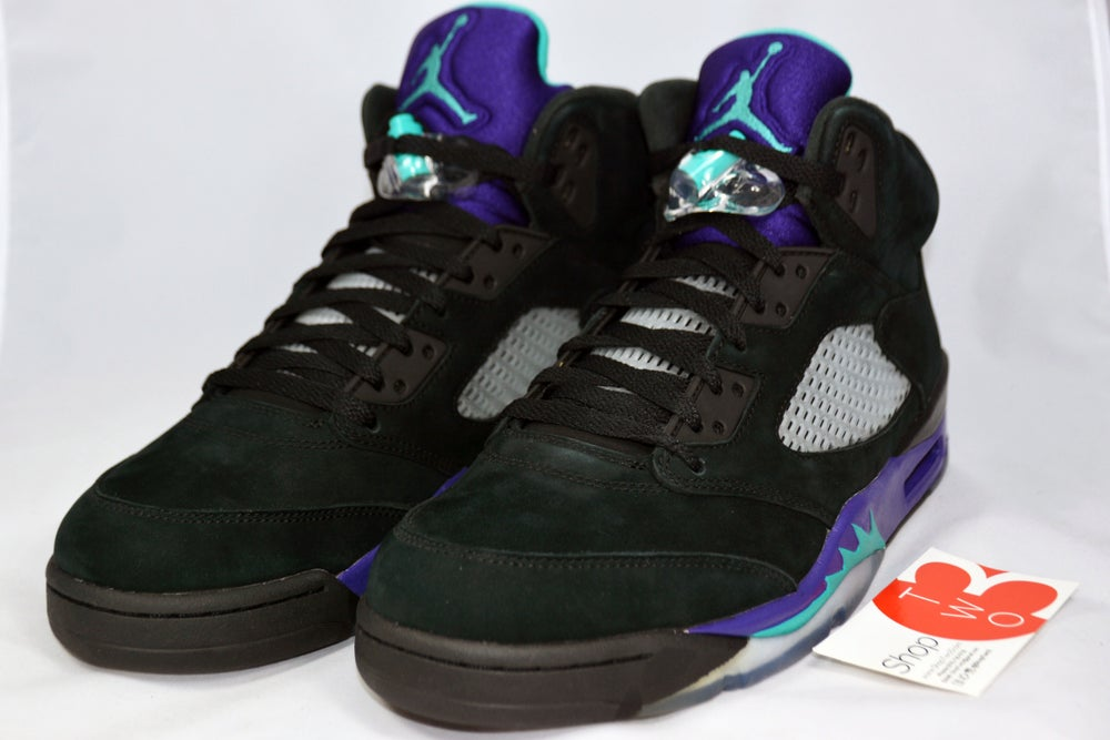 "Image of Air Jordan 5 Retro ""Black Grapes"""