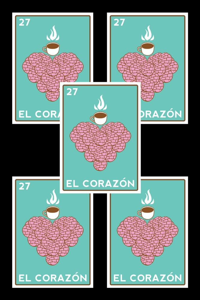 Image of El Corazon Sticker