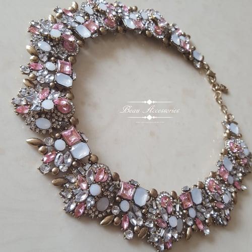 Image of Soft Pink Velencia Necklace