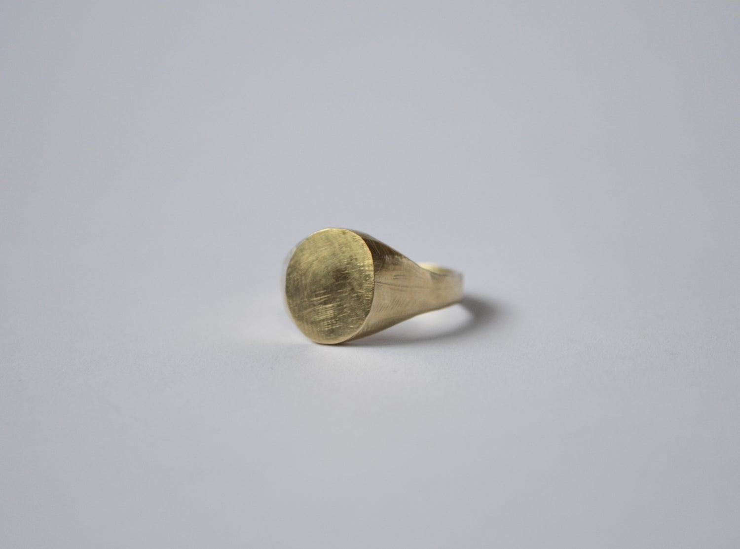 Image of Rough Signet Ring
