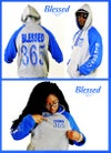 Blessed 365 Hooded Sweatshirt - Oxford/Royal Blue