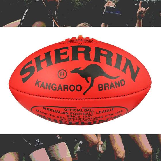 Image of Football Sherrin Kangaroo Brand