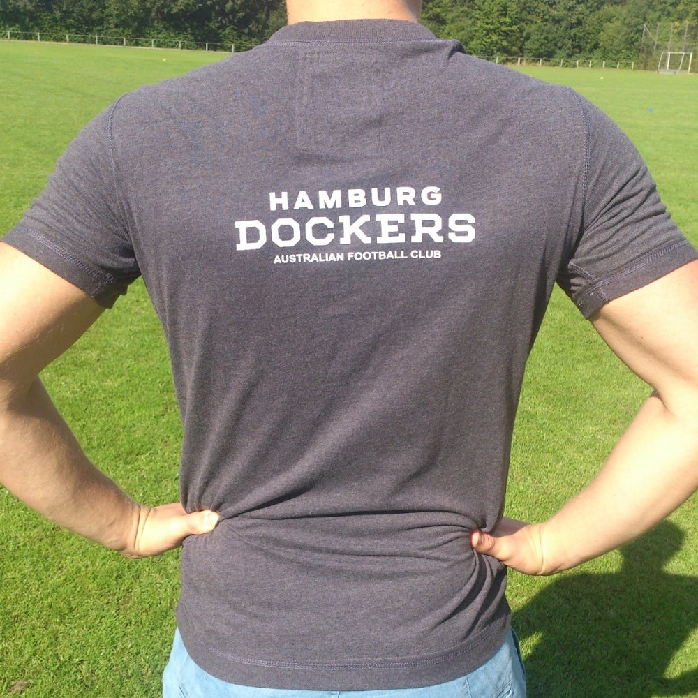 Image of Dockers T-Shirt Dark Grey 'M&S'