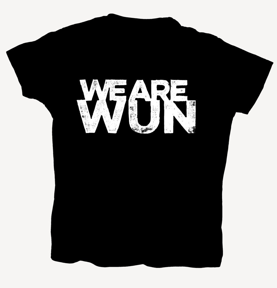 "Image of T-Shirt ""WEAREWUN"" - handprinted with love"