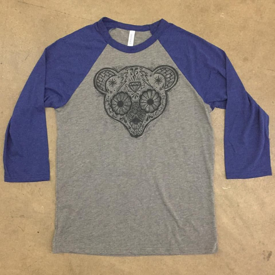 Image of Cub the Jewels Sugarskull Raglan