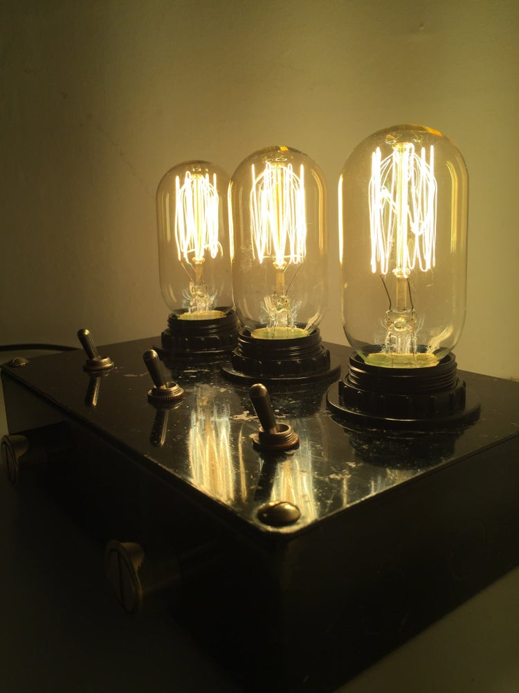 Image of Industrial 'Radio Valve' lamp