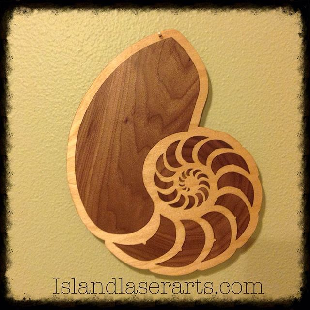 Image of Nautilus Inlay Wall Hanging