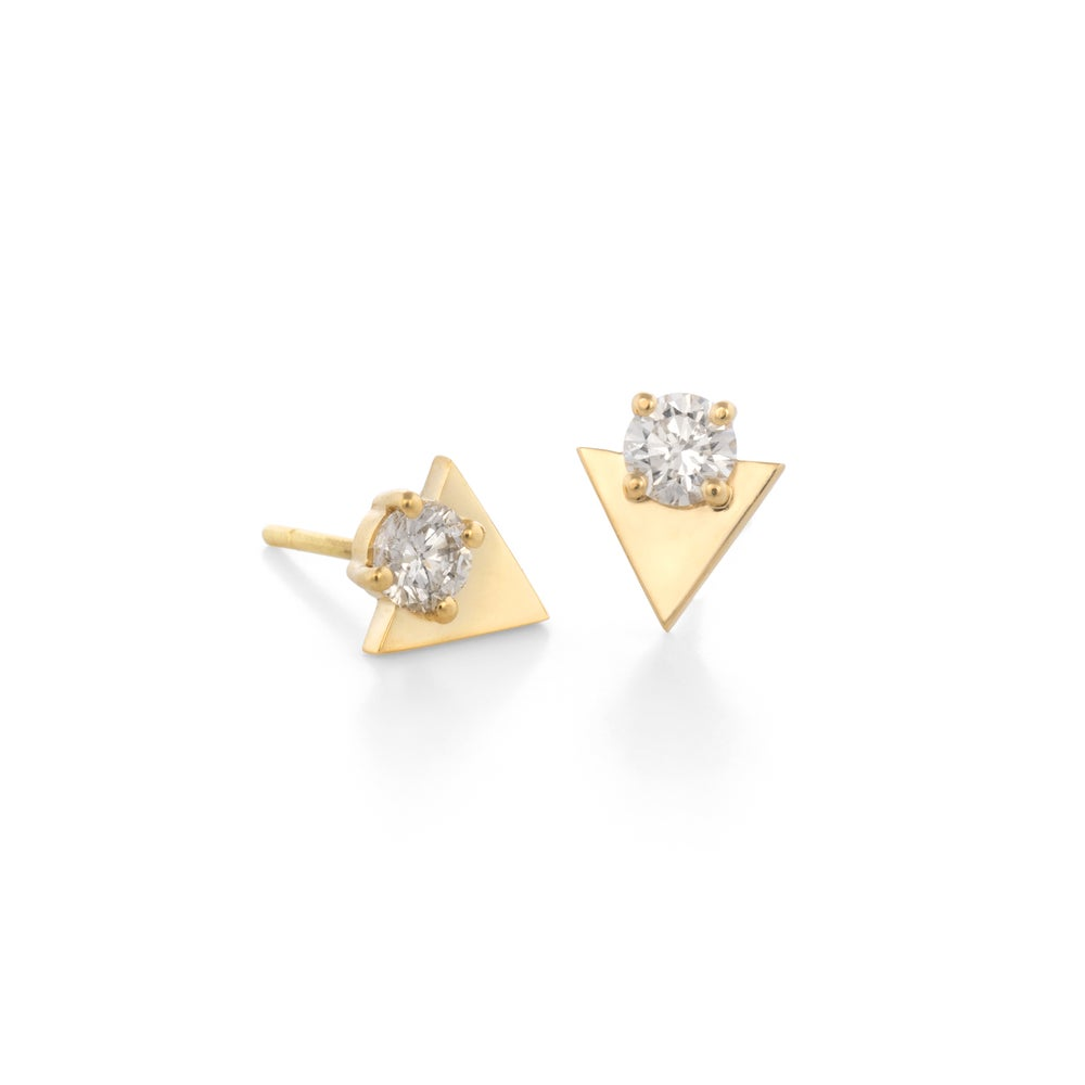 Image of Diamond Taylor Earrings
