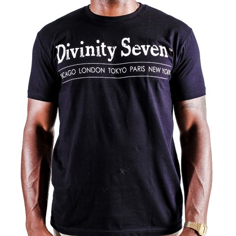 Image of Divinity Seven classic Tee Black