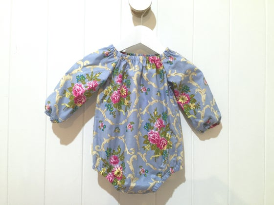 Image of Banksia Rose - Long Sleeved Playsuit Romper