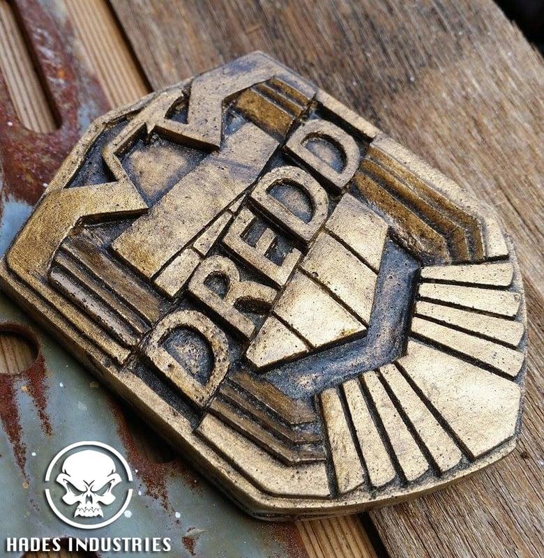 Image of Dredd Badge - Dredd