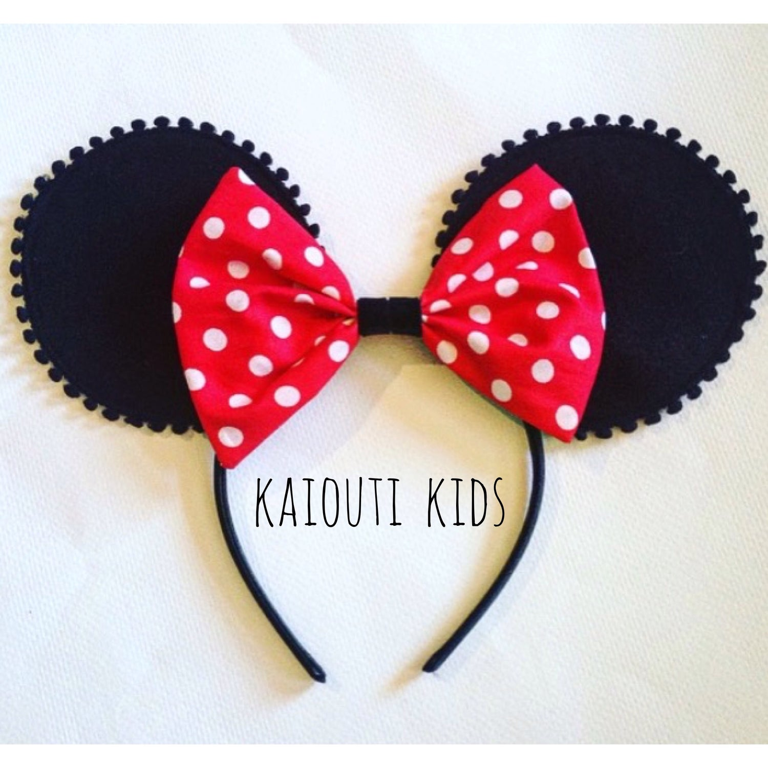 Image of Red Polka Dot Minnie Mouse Outfit