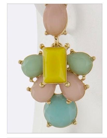 """Image of """"Pink Lemonade"""" earrings"""