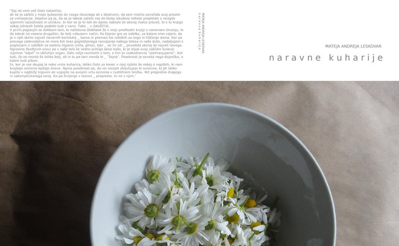 Image of naravne kuharije