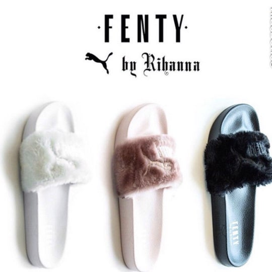 Puma Fenty Fur slide women s sandals   Fvshionheart be3032df7f